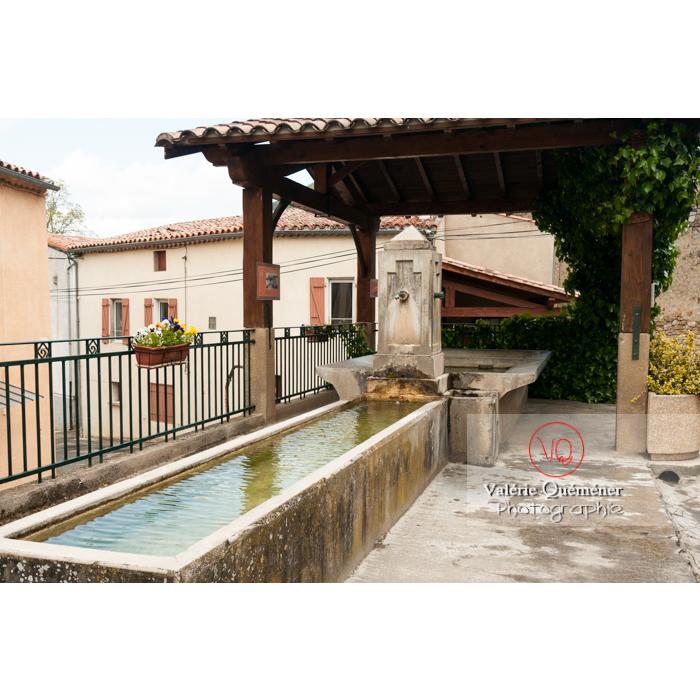 Lavoir du village de Rennes-le-Château / Aude / Occitanie - Réf : VQFR11-0148 (Q2)