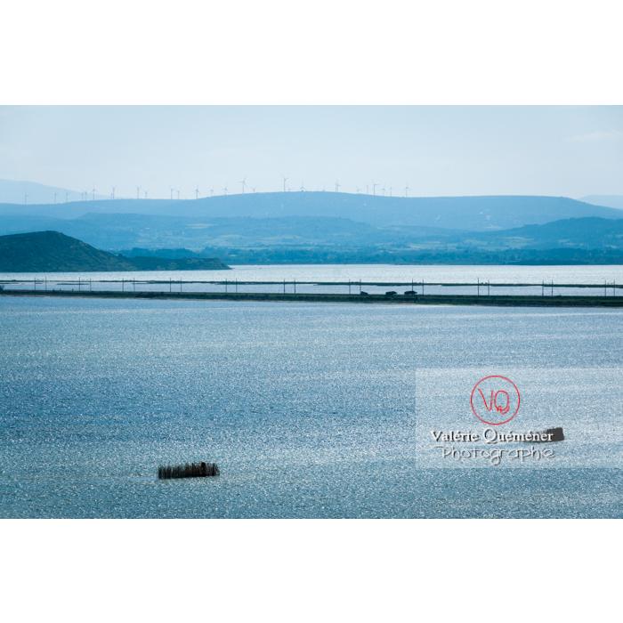 Étang de Bages-Sigean dans le parc naturel régional de la Narbonnaise en Méditerranée / Aude / Occitanie - Réf : VQFR11-0156 (Q2)