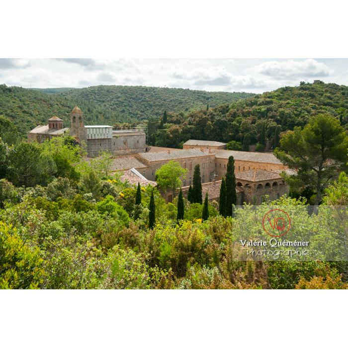 Abbaye de Fonfroide dans le parc naturel régional de la Narbonnaise en Méditerranée / Aude / Occitanie - Réf : VQFR11-0176 (Q3)