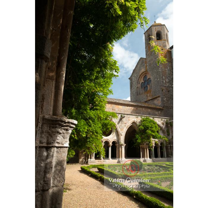 Cloître de l'Abbaye de Fontfroide (MH) / Aude / Occitanie - Réf : VQFR11-0189 (Q2)