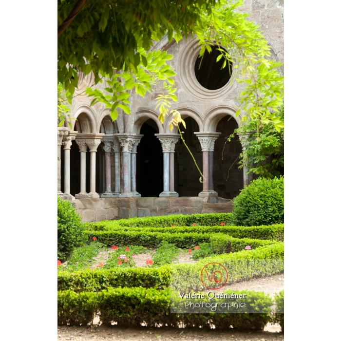 Cloître de l'Abbaye de Fonfroide / Aude / Occitanie - Réf : VQFR11-0190 (Q3)