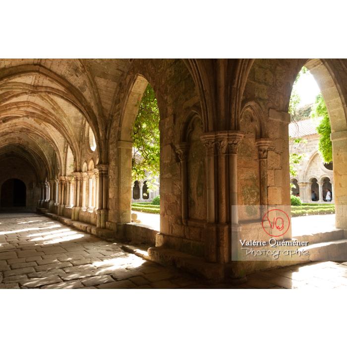 Cloître de l'Abbaye de Fonfroide / Aude / Occitanie - Réf : VQFR11-0191 (Q3)