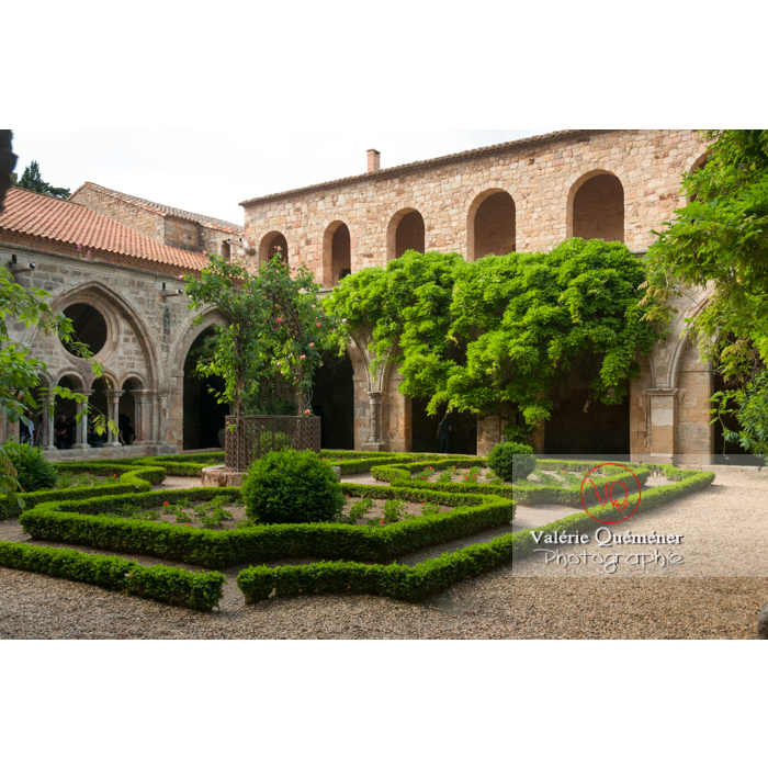 Cloître de l'Abbaye de Fonfroide (MH) / Aude / Occitanie - Réf : VQFR11-0192 (Q2)