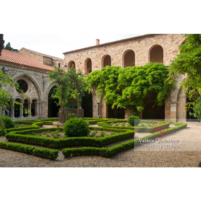Cloître de l'Abbaye de Fonfroide / Aude / Occitanie - Réf : VQFR11-0192 (Q3)