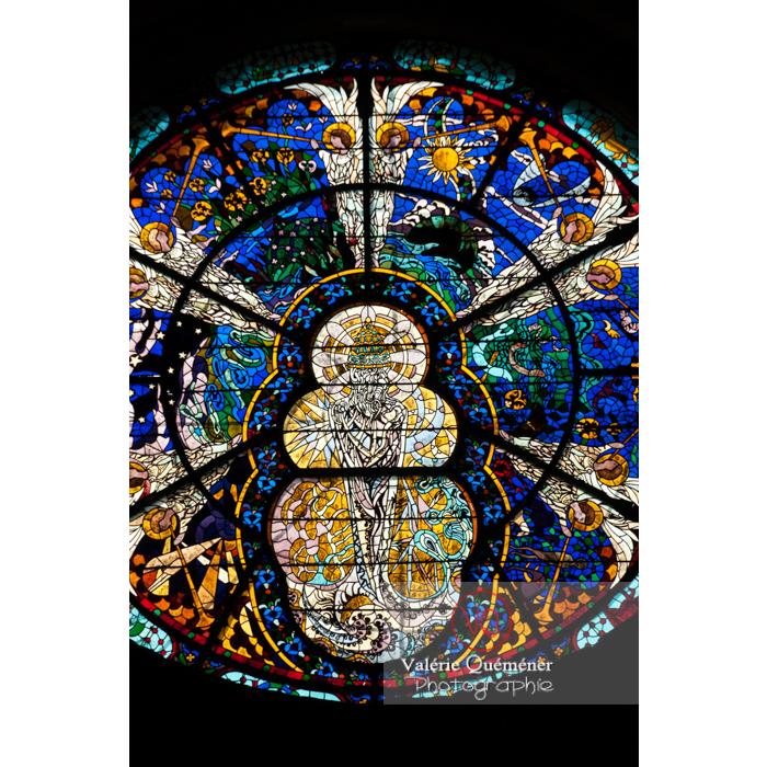 Vitrail de l'Abbaye de Fontfroide (MH) / Aude / Occitanie - Réf : VQFR11-0194 (Q2)