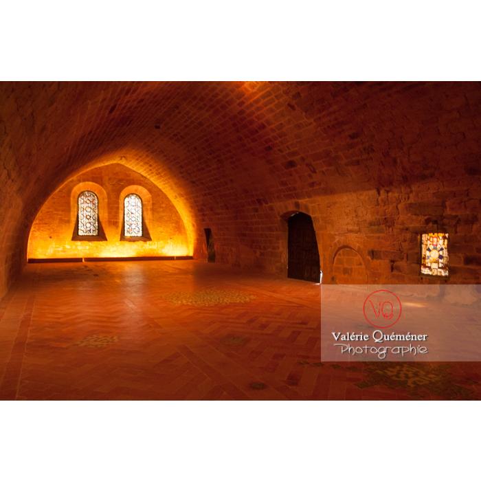 Dortoir des frères convers dans l'Abbaye de Fontfroide (MH) / Aude / Occitanie - Réf : VQFR11-0200 (Q2)