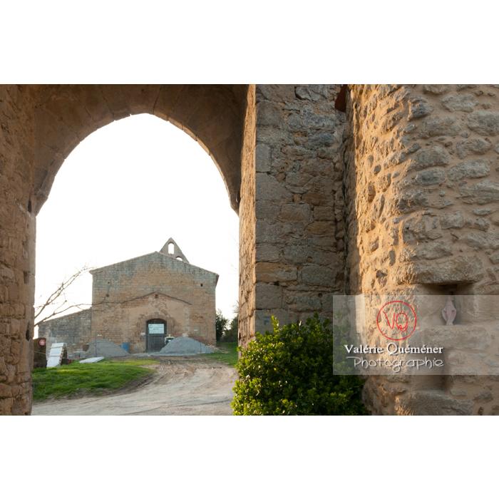 Église Notre-Dame au village de Montferrand / Aude / Occitanie - Réf : VQFR11-0311 (Q2)