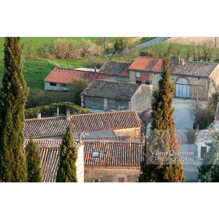 Village de Montferrand / Aude / Occitanie - Réf : VQFR11-0314 (Q2)
