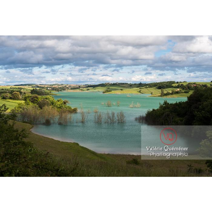 Lac de la Ganguise, commune de Belflou / Aude / Occitanie - Réf : VQFR11-0329 (Q3)