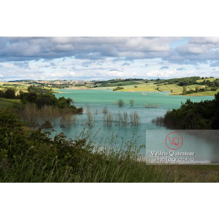 Lac de la Ganguise, commune de Belflou / Aude / Occitanie - Réf : VQFR11-0330 (Q3)