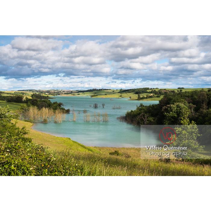 Lac de la Ganguise, commune de Belflou / Aude / Occitanie - Réf : VQFR11-0332 (Q3)