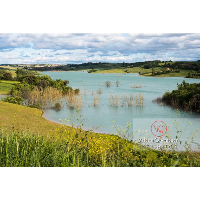 Lac de la Ganguise, commune de Belflou / Aude / Occitanie - Réf : VQFR11-0335 (Q3)