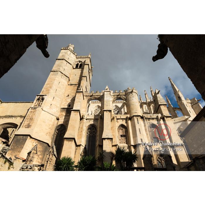Cathédrale St-Just-et-St-Pasteur, à Narbonne / Aude / Occitanie - Réf : VQFR11-0350 (Q3)