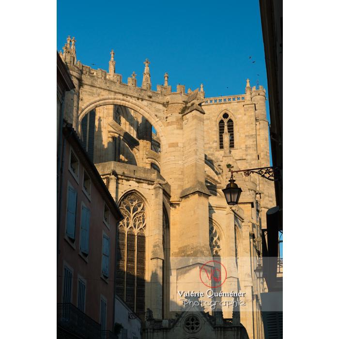 Cathédrale St-Just-et-St-Pasteur, à Narbonne / Aude / Occitanie - Réf : VQFR11-0405 (Q3)