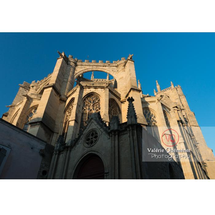 Cathédrale St-Just-et-St-Pasteur, à Narbonne / Aude / Occitanie - Réf : VQFR11-0406 (Q3)