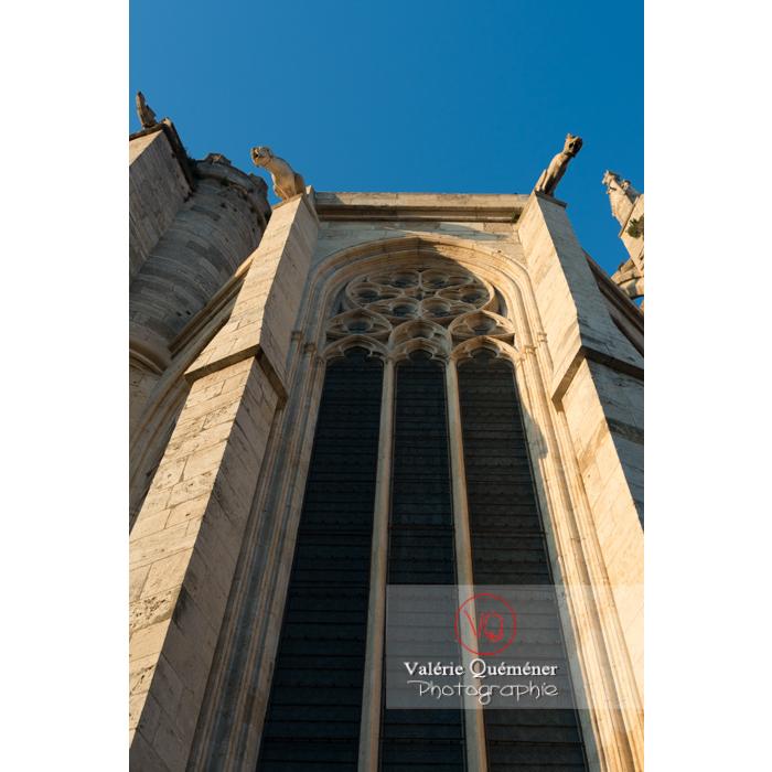 Grandeur gothique de la cathédrale St-Just-et-St-Pasteur, à Narbonne - Réf : VQFR11-0408 (Q3)