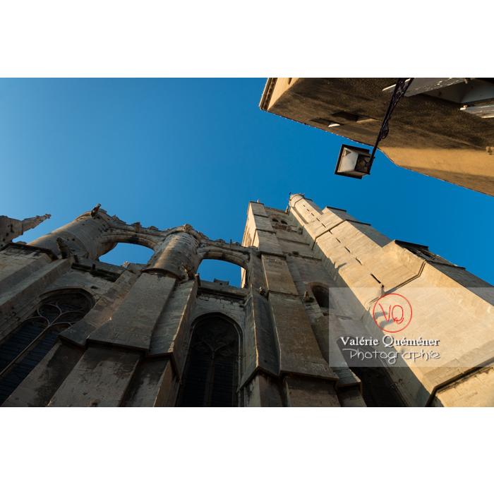 Cathédrale St-Just-et-St-Pasteur, à Narbonne / Aude / Occitanie - Réf : VQFR11-0411 (Q3)
