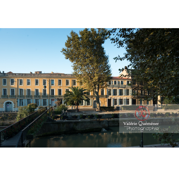 Écluse de Narbonne sur le canal de la Robine - Réf : VQFR11-0412 (Q3)