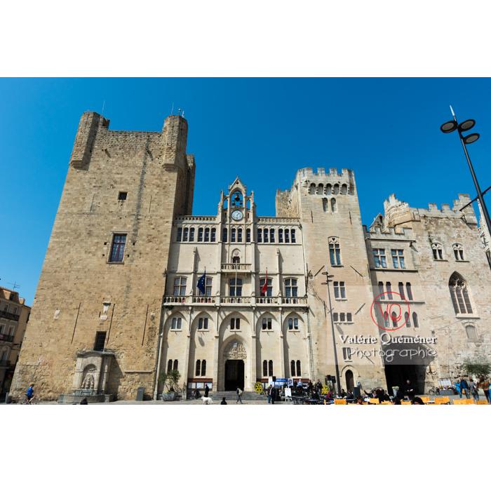 Hôtel de ville situé dans le palais des archevêques à Narbonne / Aude / Occitanie - Réf : VQFR11-0433 (Q3)