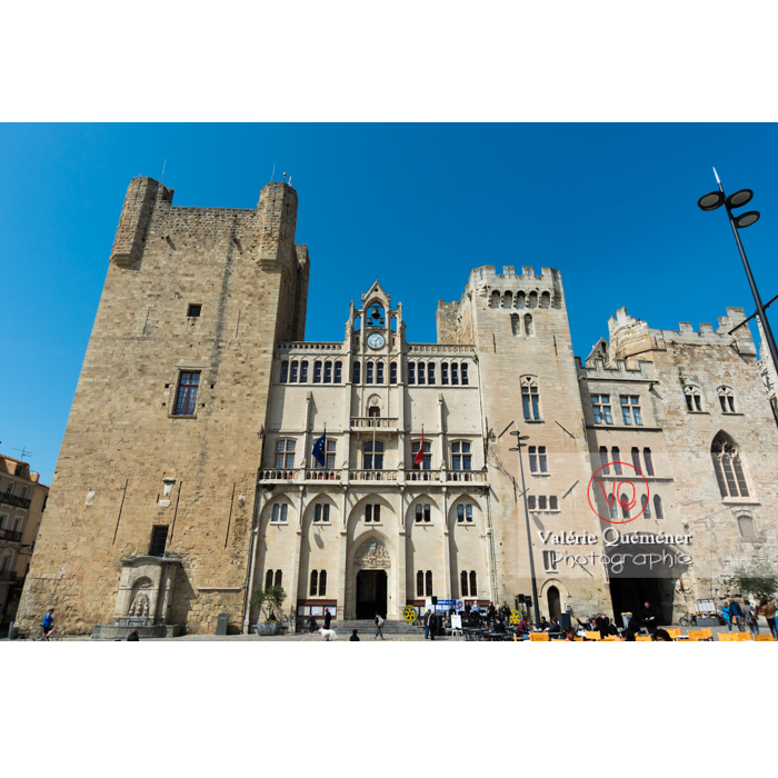 Palais des archevêques et hôtel de ville de Narbonne / Aude / Occitanie - Réf : VQFR11-0433 (Q3)