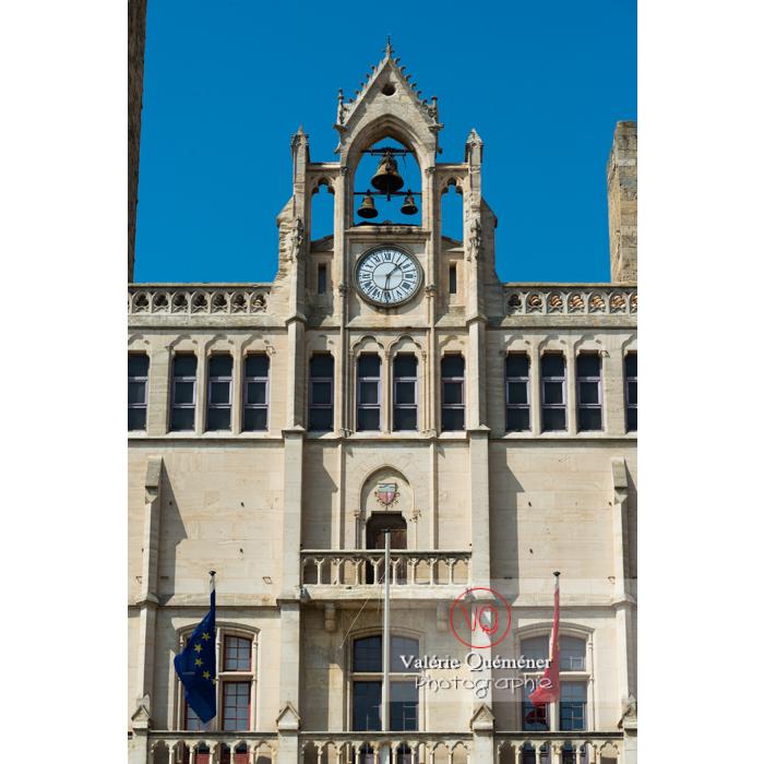 Hôtel de ville de Narbonne / Aude / Occitanie - Réf : VQFR11-0434 (Q3)