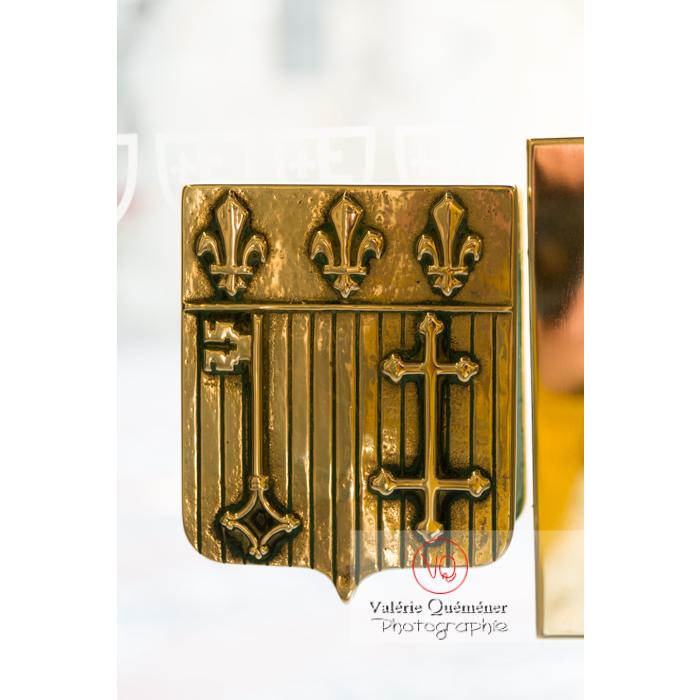 Blason de Narbonne au palais des archevêques - Réf : VQFR11-0438 (Q3)