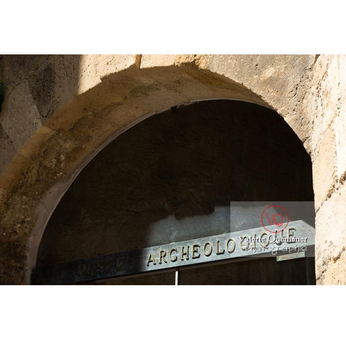 Détail du musée archéologique du palais des archevêques, à Narbonne / Aude / Occitanie - Réf : VQFR11-0441 (Q3)