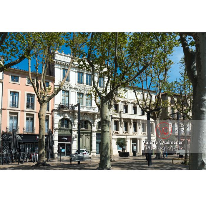 Cours de la République à Narbonne / Aude / Occitanie - Réf : VQFR11-0461 (Q3)