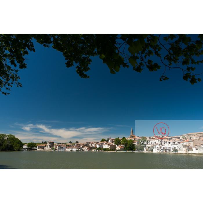 Village de Castelnaudary au bord du canal du midi / Aude / Occitanie - Réf : VQFR11-0668 (Q3)