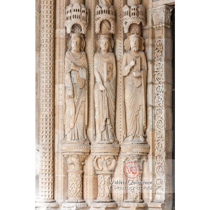 Sculpture de statues de la cathédrale Saint-Étienne de Bourges / Cher - Réf : VQFR18-0009 (Q2)