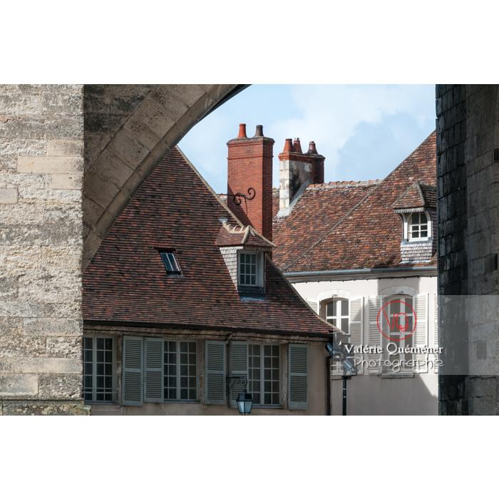 Maisons typiques du Berry à Bourges / Cher - Réf : VQFR18-0010 (Q2)