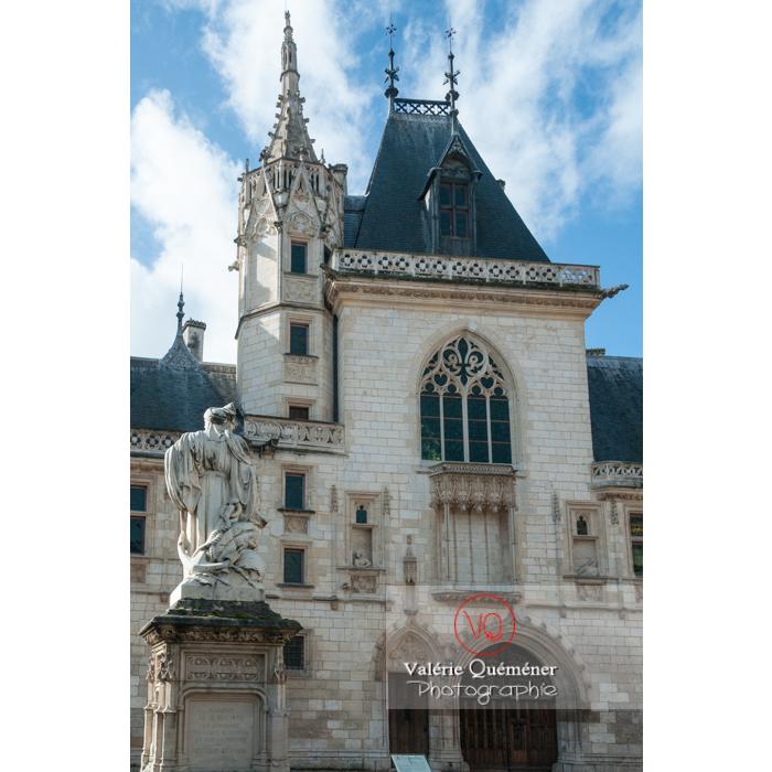 Palais Jacques-Cœur à Bourges / Cher - Réf : VQFR18-0020 (Q2)