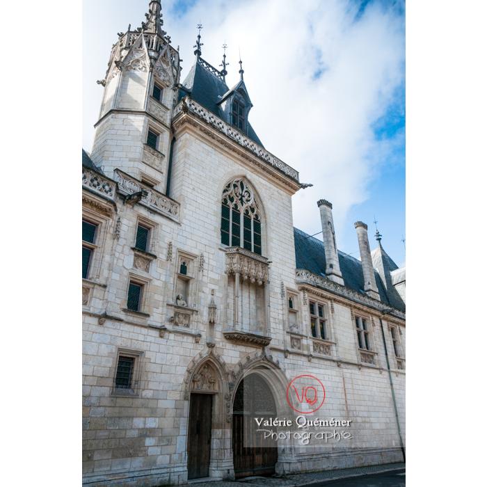 Palais Jacques-Cœur à Bourges / Cher - Réf : VQFR18-0021 (Q2)