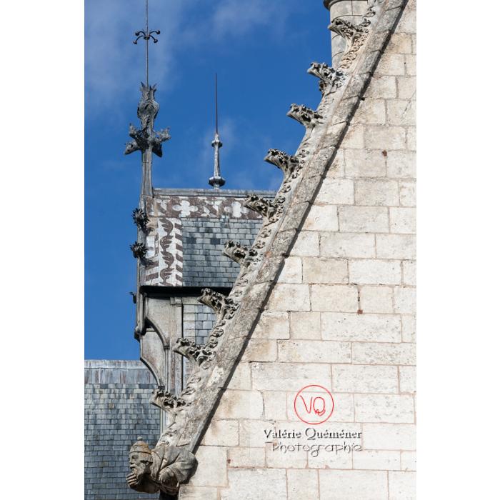 Détail épis de faîtage du palais Jacques-Cœur à Bourges / Cher - Réf : VQFR18-0026 (Q2)