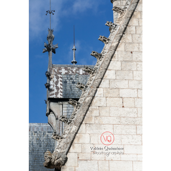 Palais Jacques-Cœur à Bourges / Cher - Réf : VQFR18-0026 (Q2)