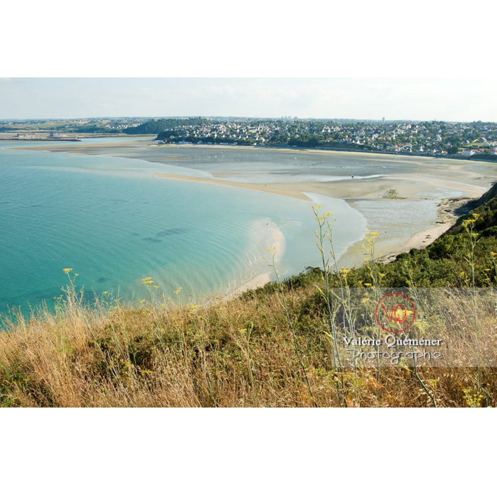 Baie de St-Brieuc côté St-Laurent-de-la-Mer, commune de Plérin / Côtes d'Armor / Bretagne - Réf : VQFR22-0100 (Q1)