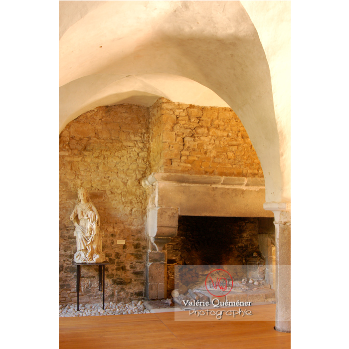 Cheminée de l'abbaye de Beauport (MH) à Kerity, commune de Paimpol / Côtes d'Armor / Bretagne - Réf : VQFR22-0173 (Q1)