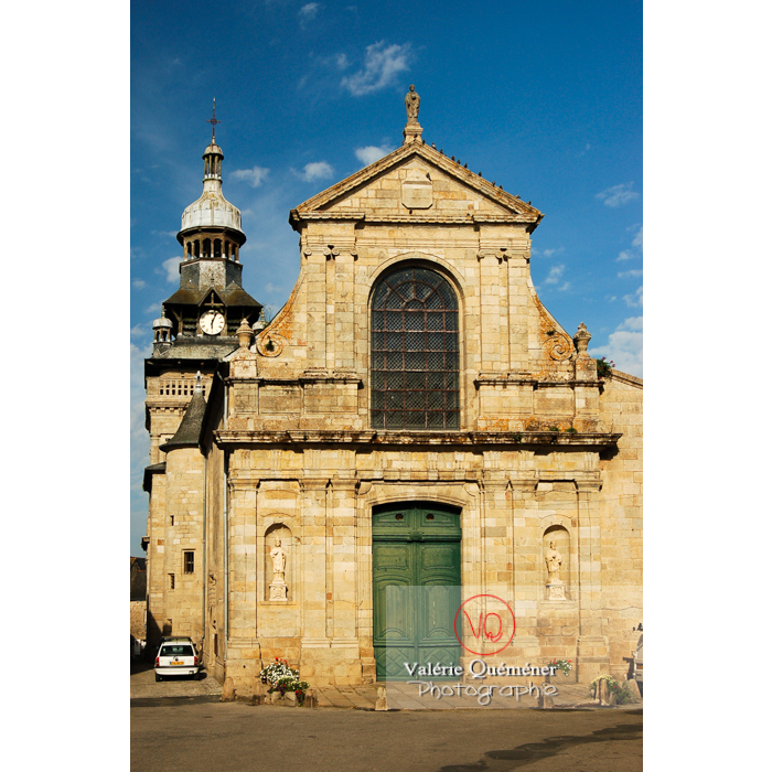 Église St-Mathurin à Moncontour / Côtes d'Armor / Bretagne - Réf : VQFR22-0239 (Q1)