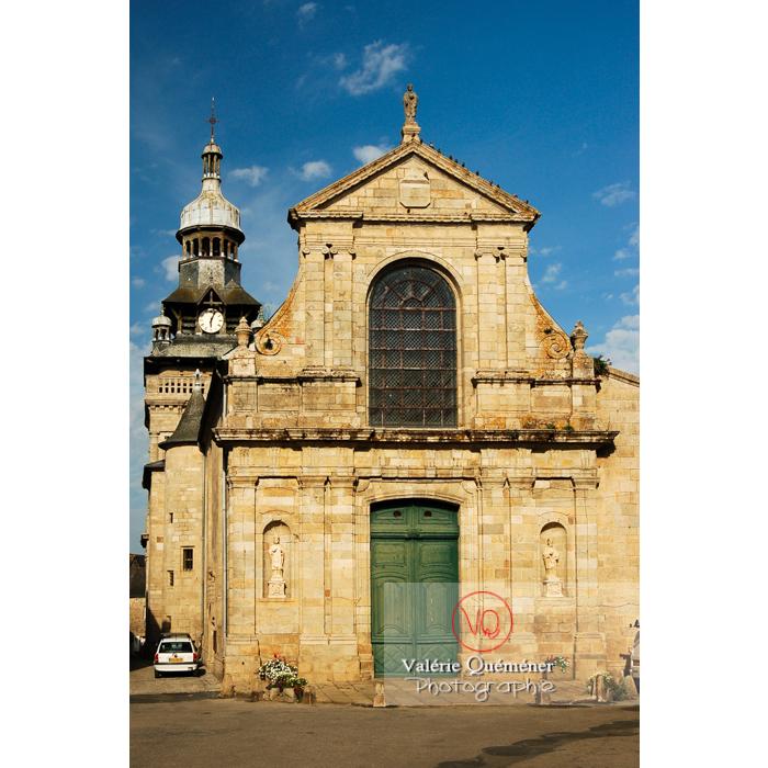 Eglise St-Mathurin à Moncontour / Côtes d'Armor / Bretagne - Réf : VQFR22-0239 (Q1)