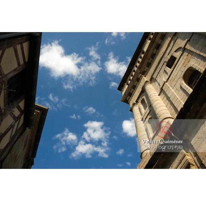 Église St-Mathurin à Moncontour / Côtes d'Armor / Bretagne - Réf : VQFR22-0245 (Q1)