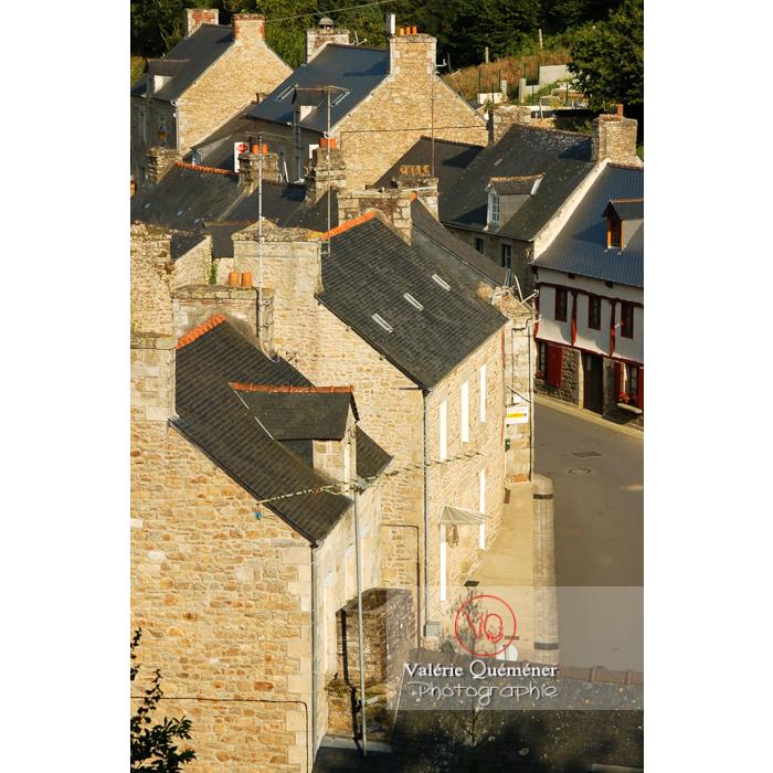 Maisons en pierre à Moncontour / Côtes d'Armor / Bretagne - Réf : VQFR22-0248 (Q1)