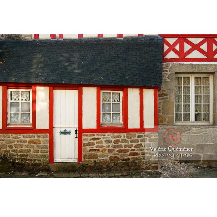 Maisons en pierre et bois à Moncontour / Côtes d'Armor / Bretagne - Réf : VQFR22-0251 (Q1)
