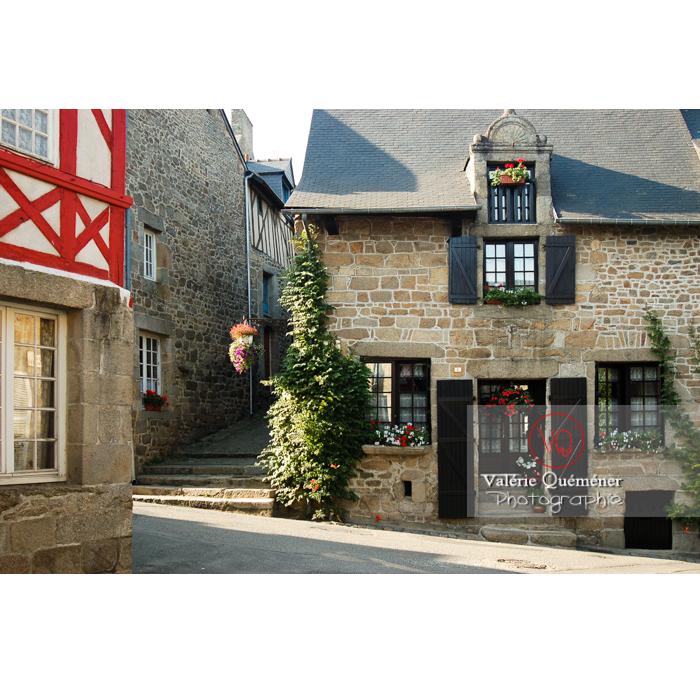 Maisons en pierre à Moncontour / Côtes d'Armor / Bretagne - Réf : VQFR22-0253 (Q1)