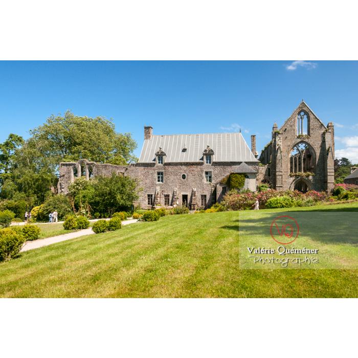 Abbaye de Beauport (MH) à Kerity, commune de Paimpol / Côtes d'Armor / Bretagne - Réf : VQFR22-0286 (Q2)