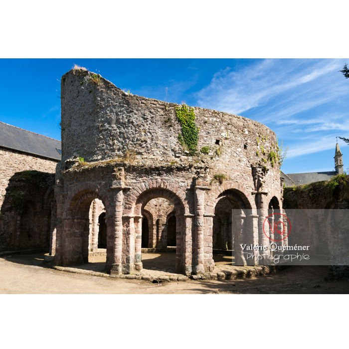Église Sainte-Marie dite temple de Lanleff / Côtes d'Armor / Bretagne - Réf : VQFR22-0298 (Q2)