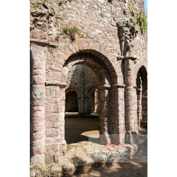 Église Sainte-Marie dite temple de Lanleff / Côtes d'Armor / Bretagne - Réf : VQFR22-0299 (Q2)