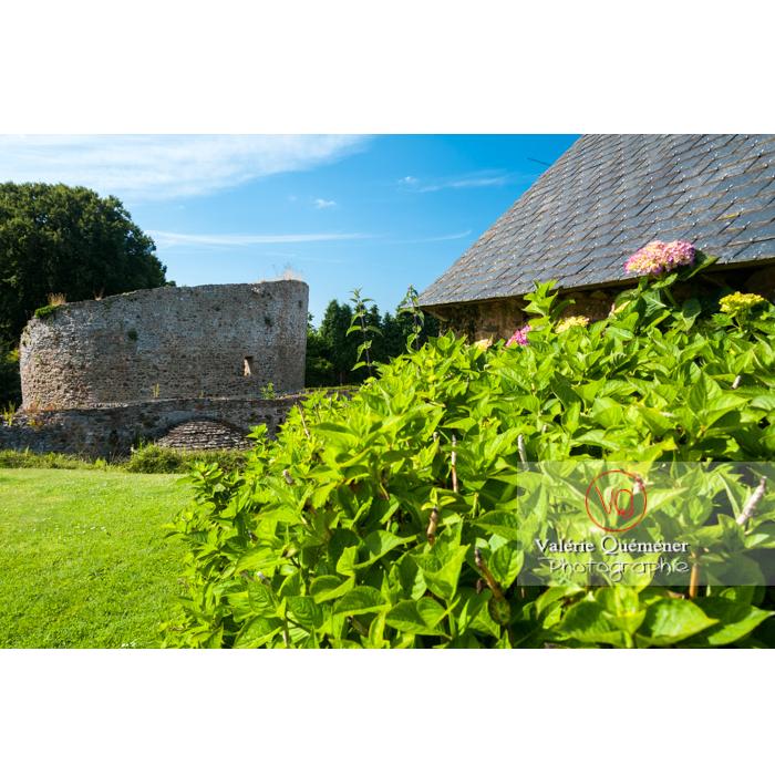 Église Sainte-Marie dite temple de Lanleff / Côtes d'Armor / Bretagne - Réf : VQFR22-0305 (Q2)