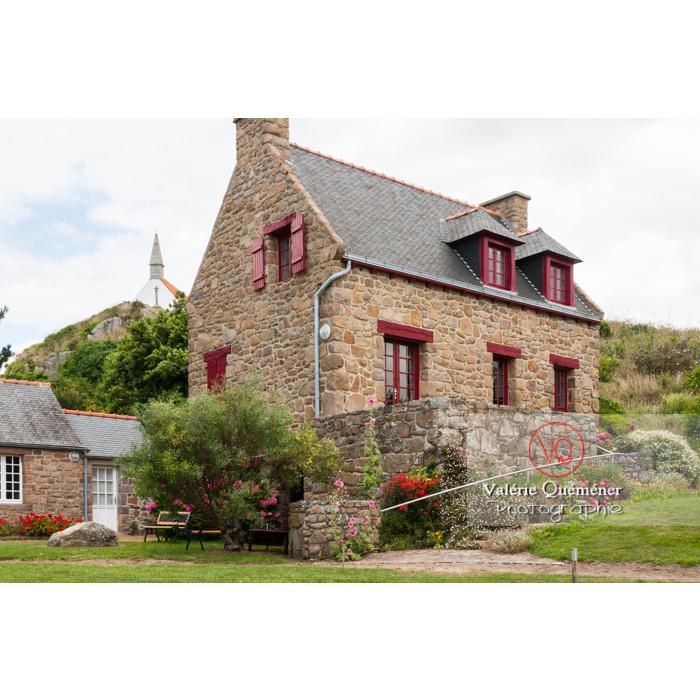 Maison en pierre sur l'île de Bréhat / Côtes d'Armor / Bretagne - Réf : VQFR22-0390 (Q2)
