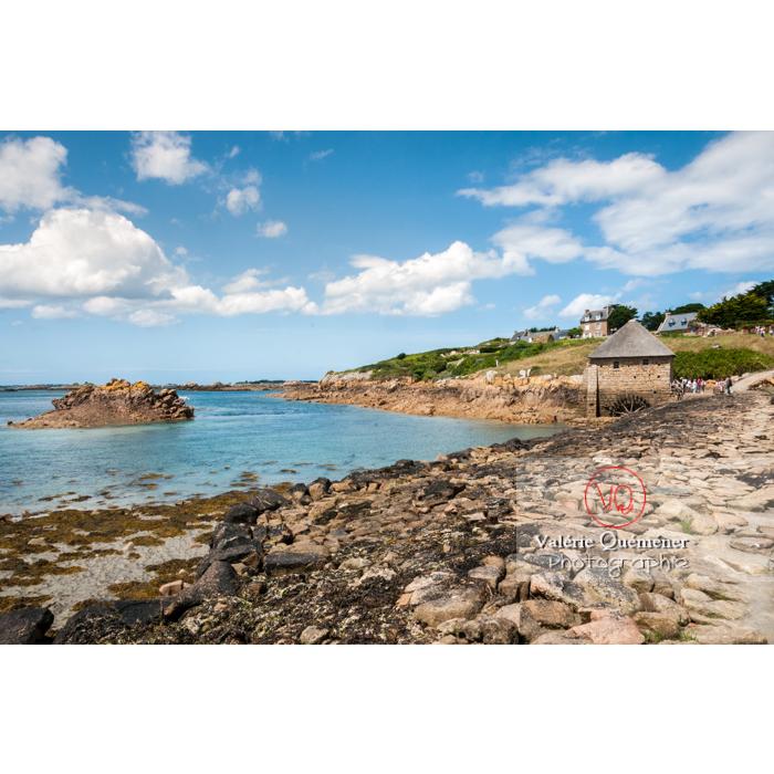 Moulin à marée du Birlot (MH) sur l'île de Bréhat / Côtes d'Armor / Bretagne - Réf : VQFR22-0399 (Q2)