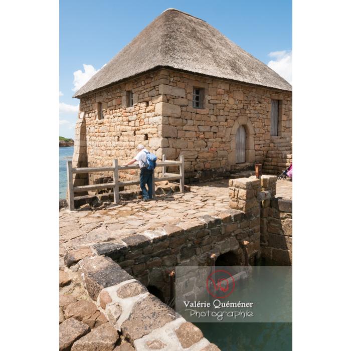 Moulin à marée du Birlot (MH) sur l'île de Bréhat / Côtes d'Armor / Bretagne - Réf : VQFR22-0402 (Q2)